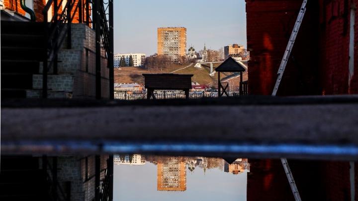 Фото дня. Весь этот город — лишь отражение в воде