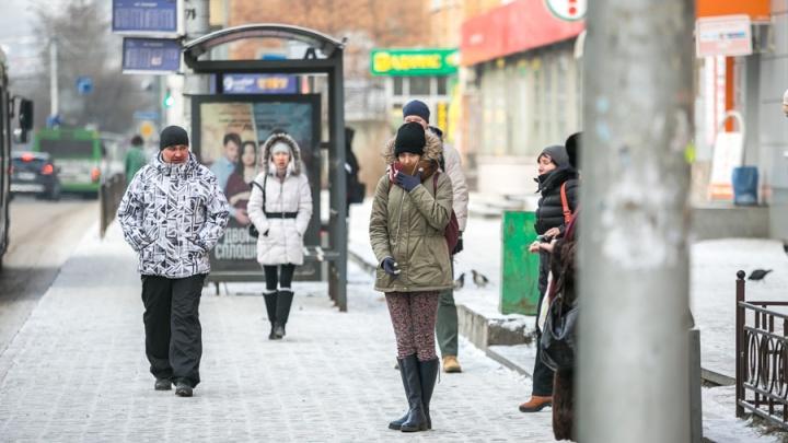 Уже сотня жителей края успели получить обморожение