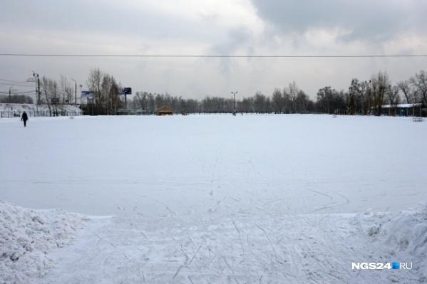 Каток на Татышеве— самый большой в городе