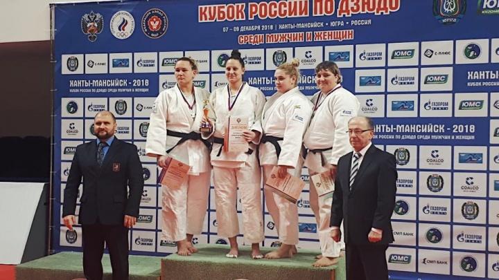 Дзюдоистка из Екатеринбурга завоевала бронзу на Кубке России