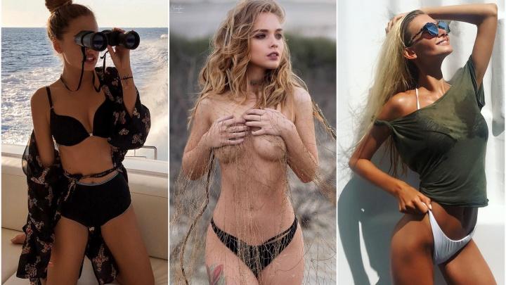 Екатеринбург через Instagram: разглядываем длинноногих моделей в купальниках