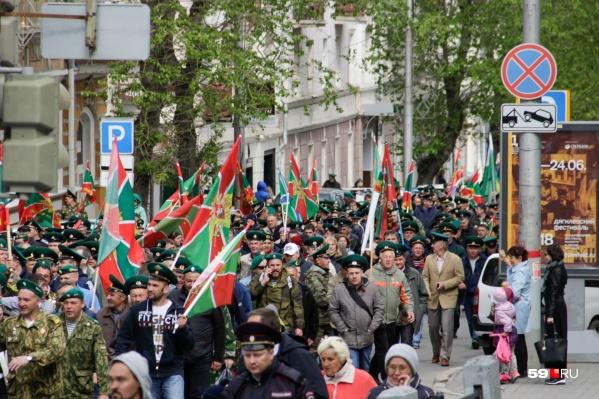 На следующей неделе в Перми отпразднуют День пограничника