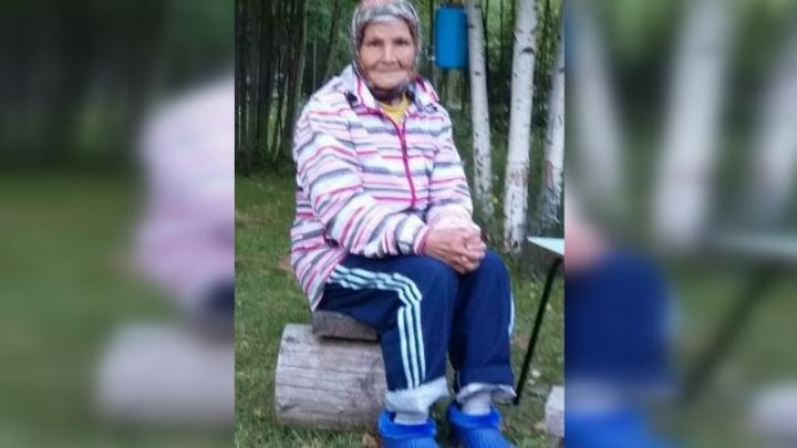 Будут искать с вертолета: в Прикамье пропала бабушка, страдающая потерей памяти
