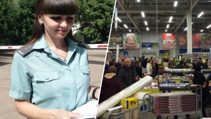 Долг на 52 миллиона: в Ярославле у крупного строительного магазина арестовали весь товар