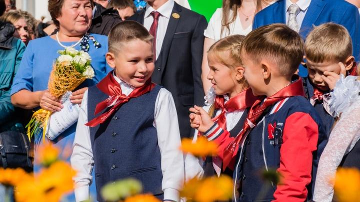 Запустили шарики, повязали галстуки, открыли самую большую школу: как в Перми прошло 1 сентября
