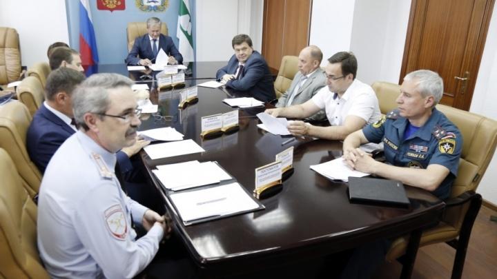 Алексей Кокорин сообщил уральскому полпреду о подготовке к выборам