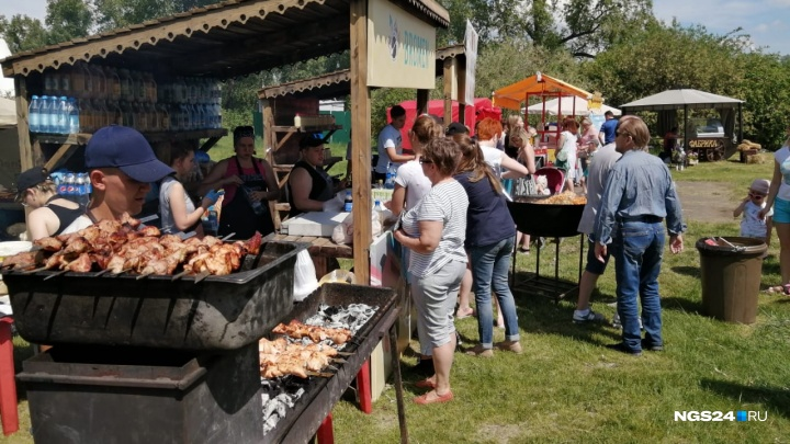 На острове Татышев стартовал фестиваль еды