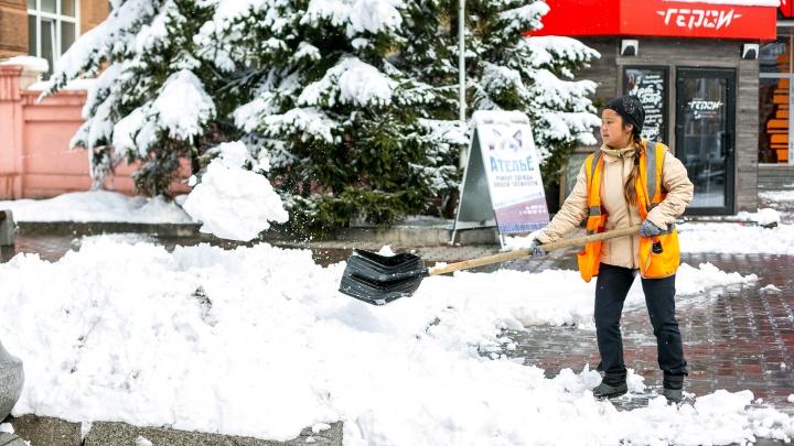 Мороз со снегом приходит в Красноярск: прогноз на всю неделю