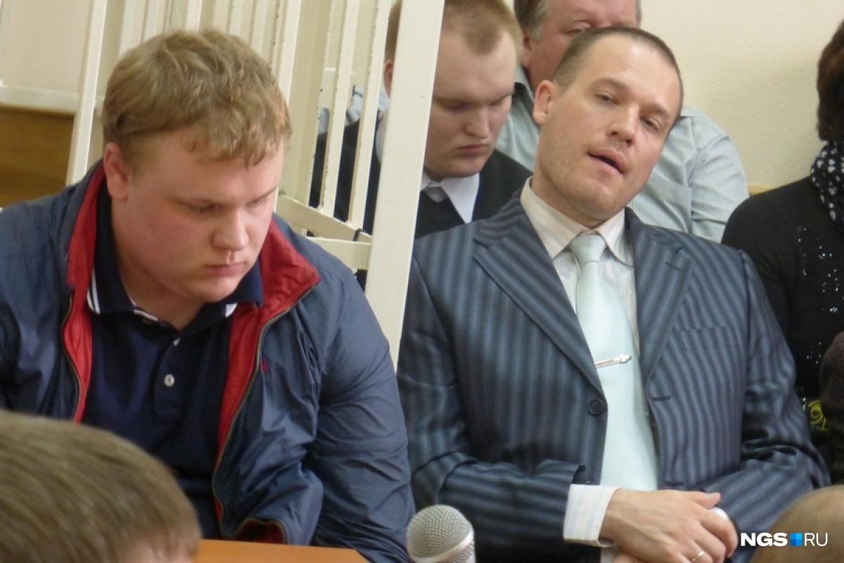 Дмитрий Коган и его адвокат