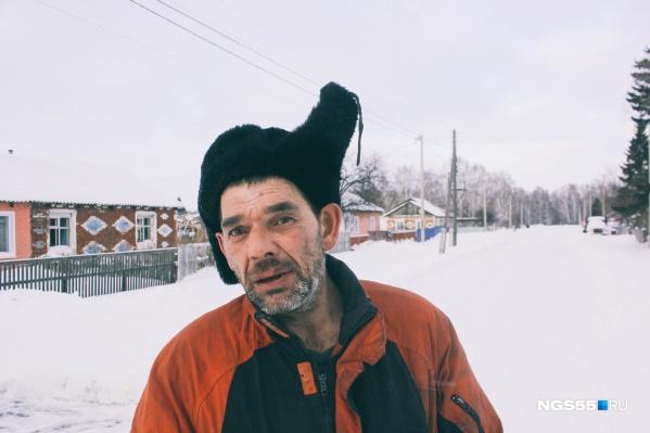Житель Покровки Сергей признался, что пробовал все виды спирта, но его спас от смерти бог