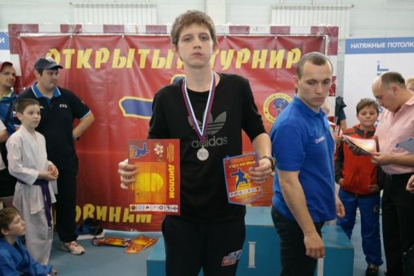 Александр Захаренко в спортклубе «Бердск»