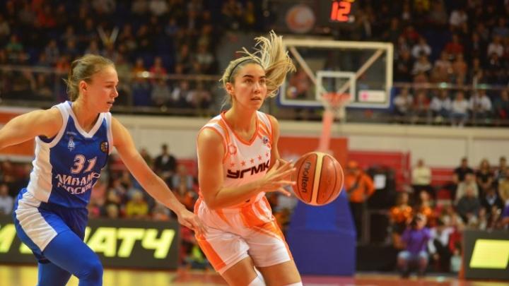 «Наши игроки только возвращаются из WNBA»: главный тренер УГМК — о победе над московским «Динамо»