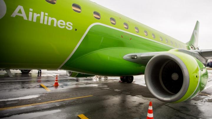 В самолёте перед вылетом в Новосибирск умер пассажир