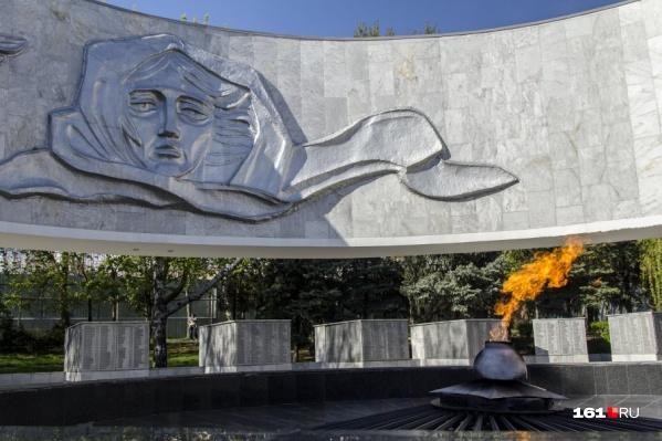 «Вечный огонь» обновят к юбилею победы в Великой Отечественной войне