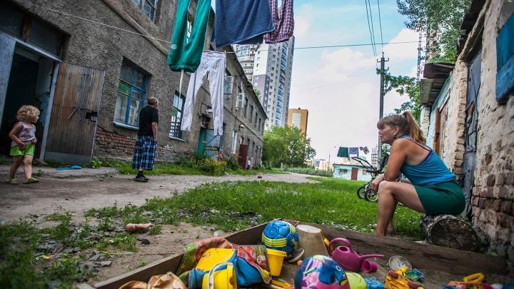 «Уголь не покупайте»: мэрия расселит разрушенный дом около «Сибирского Молла» до зимы