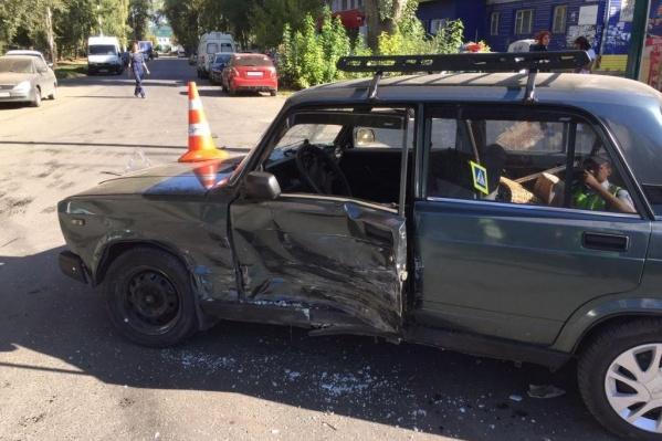 Водитель «семерки» не был виновником аварии