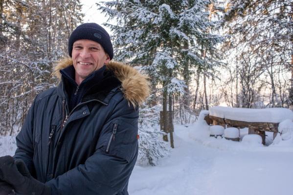 Игоря Белых признали одним из лучших отцов в Новосибирской области — НГС приехал к нему домой
