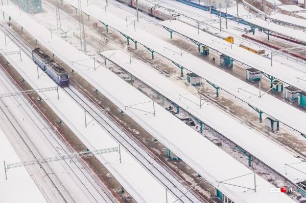 Самарцев просят быть осторожными на железной дороге