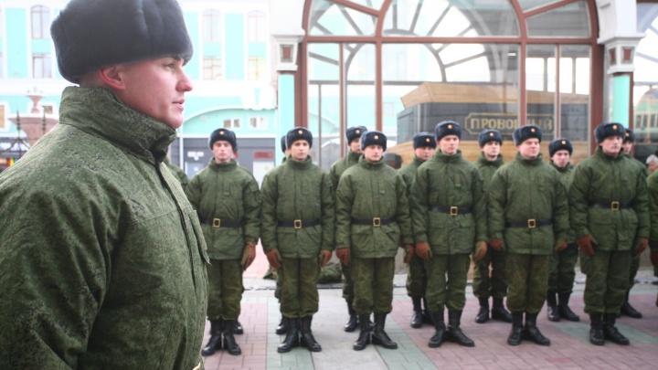 Здоровые и годные: две сотни новосибирцев отправились служить в армию