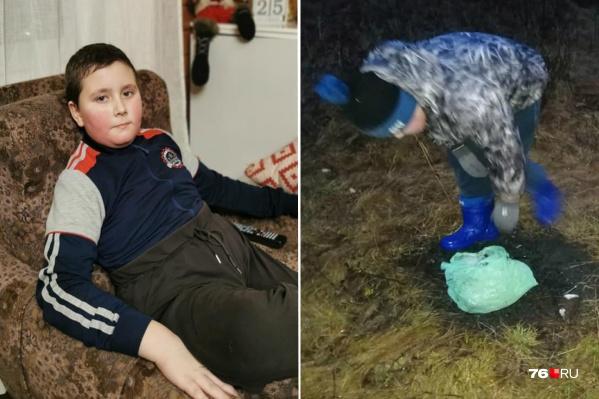 Илья Винник ненавидит, когда в его родной деревне под ногами у людей валяется мусор