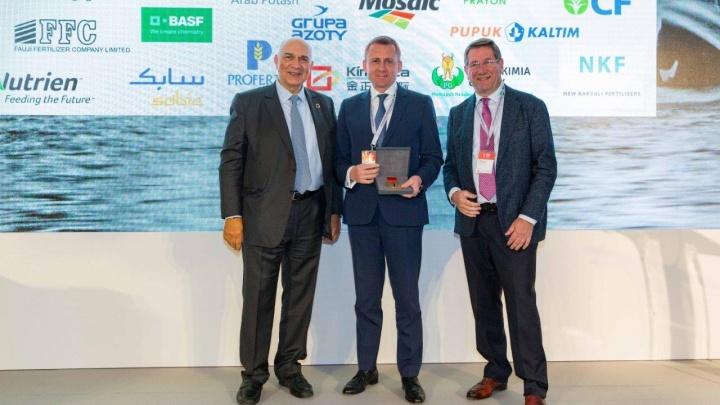 Пермскому предприятию вручили золотую медаль Международной ассоциации производителей удобрений