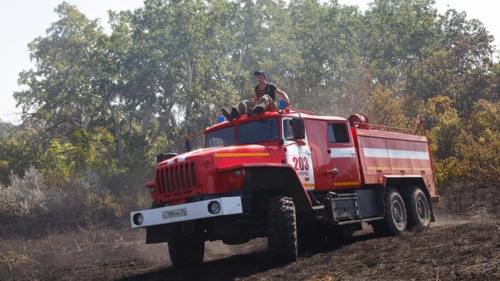 МЧС объявило о чрезвычайной пожароопасности в Волгоградской области