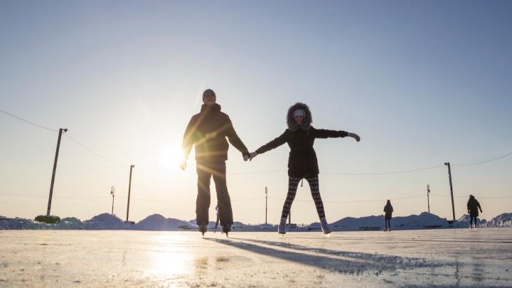 Отдых на льду в Архангельске: выбираем, где в каникулы покататься на коньках
