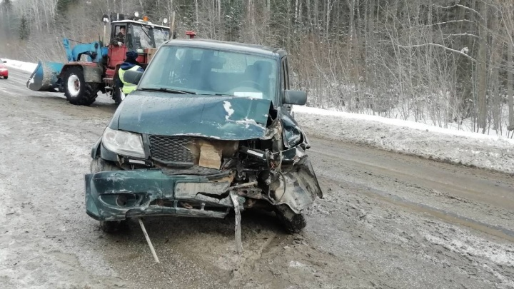 На дороге Кунгур — Соликамск в аварии погиб водитель ВАЗа