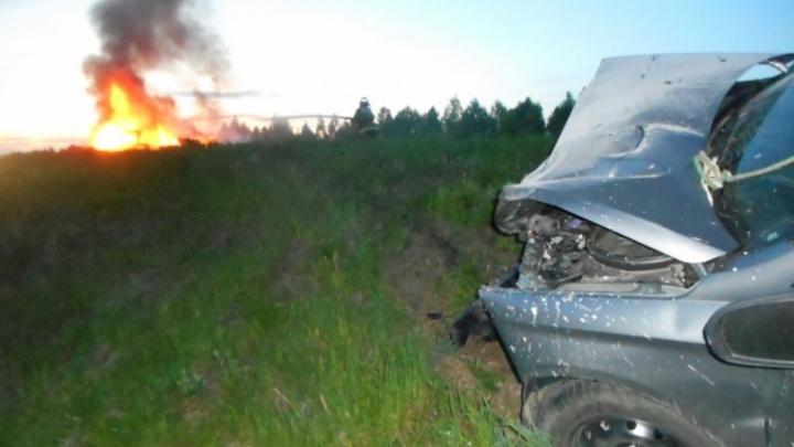 «Младшая — в коме»: родственники пассажиров сгоревшей иномарки рассказали подробности ДТП в Башкирии
