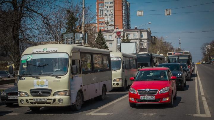 Ликвидация: маршрутки в Ростове начнут убирать с 4 августа
