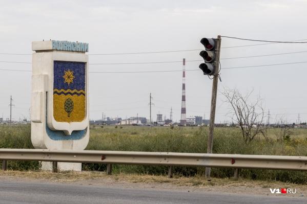 Необычная авария произошла в Волжском
