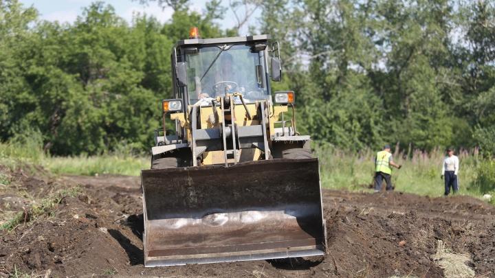 «Убираем мусор и сухостой»: в Челябинске начали приводить в порядок будущий парк «Плодушка»