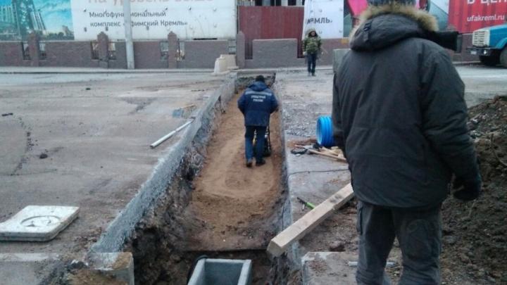 Внеплановый ремонт на улице Цюрупы продлят до 5 декабря