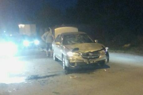 Авария произошла в 20:00 на улице Новоуральской