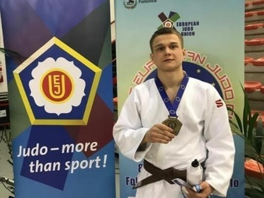 Курганский спортсмен взял бронзовую медаль на соревнованиях по дзюдо в Европе