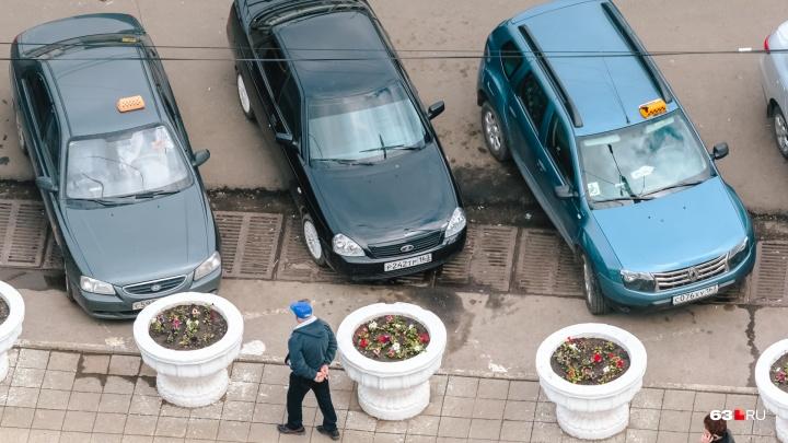 Платным парковкам быть: власти Самары подсчитали, сколько денег принесут стоянки вдоль улиц