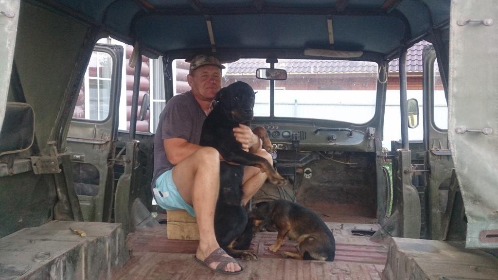 Муж Светланы купил уазик, чтобы и на Кубани заниматься охотой