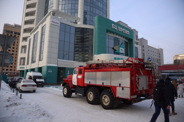Эвакуации в Новосибирске начались около 9 утра