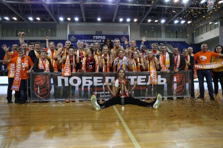 Баскетболистки УГМК стали тринадцатикратными чемпионками России