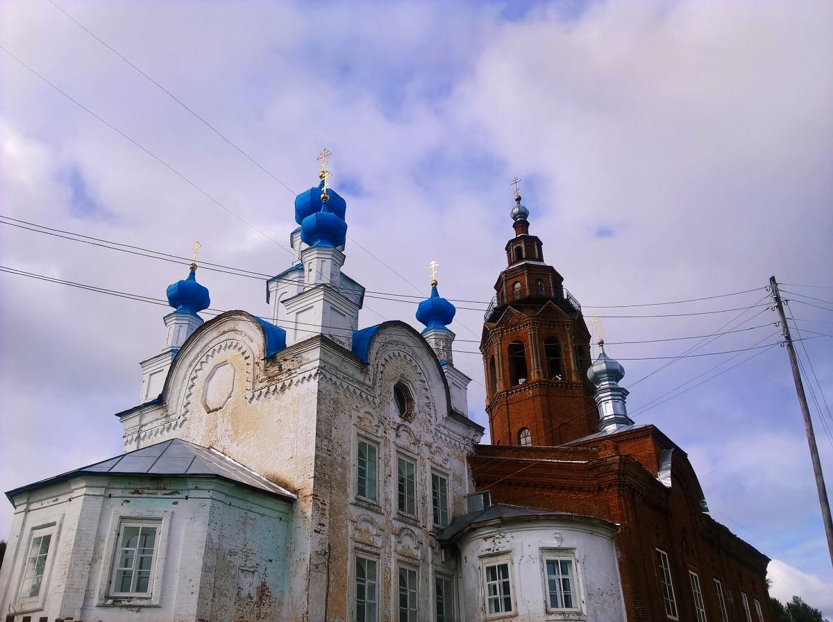 Чердынь — город церквей