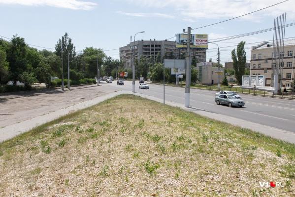 Участок располагается на проспекте Ленина
