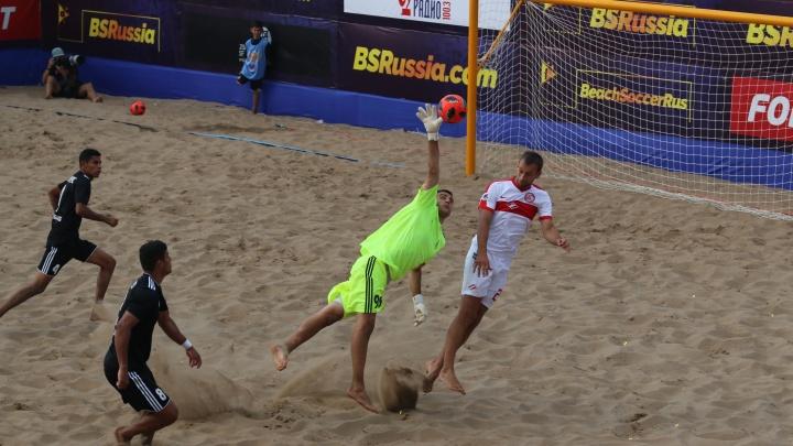 Пляжные «Крылья» потерпели разгромное поражение на старте суперфинала чемпионата России