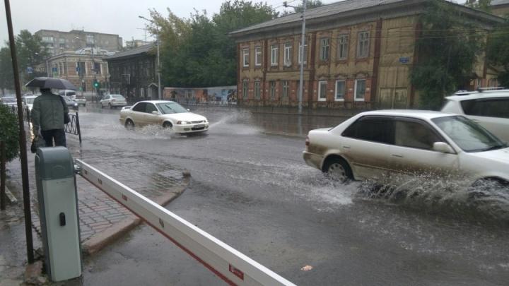 Где затопило улицы