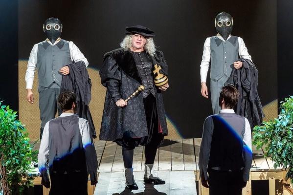 Спектакль «Розенкранц и Гильденстерн мертвы» Олега Рыбкина