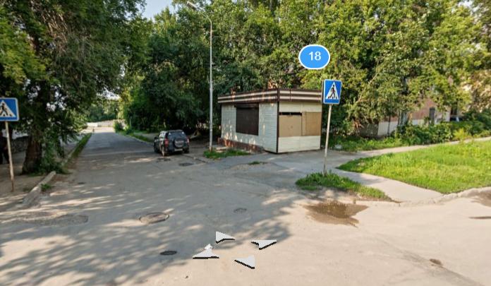 В Новосибирске сузили улицу, которая пересекает сама себя