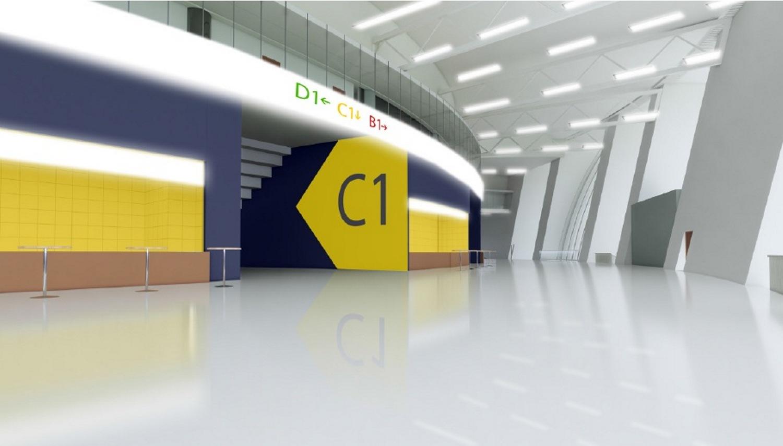 Примерно так будут выглядеть холлы нового ЛДС