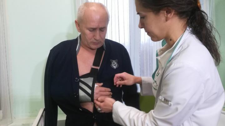 В Ярославле врачи пришили мужчине оторванную руку