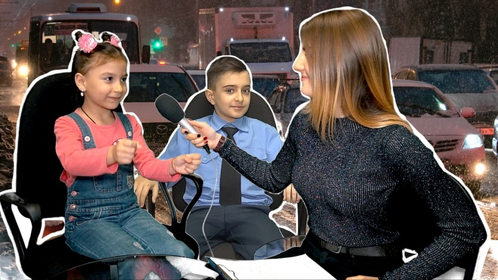 «Украсим блестками, поставим гараж»: дети— о том, как разрулить транспортный коллапс в Ростове