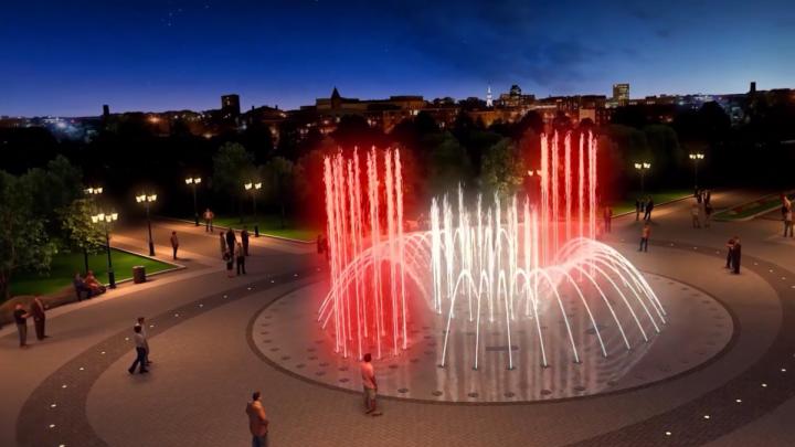123 тысячи нижегородцев выбрали, как будет выглядеть новый фонтан на Нижневолжской набережной