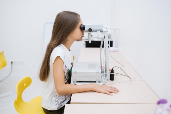 Диагностика поможет предупредить развитие проблем со зрением